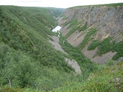 Utsjoki Kevon kanjoni